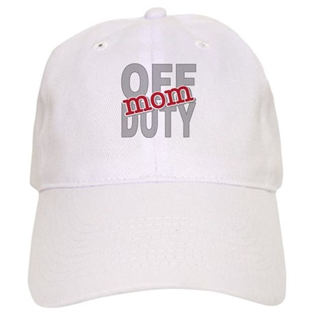 Off Duty Mom Profession Cap