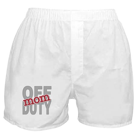 Off Duty Mom Profession Boxer Shorts
