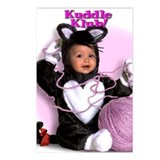 """Kitten N' Yarn"" from Kuddle Klub Postcards (Packa"