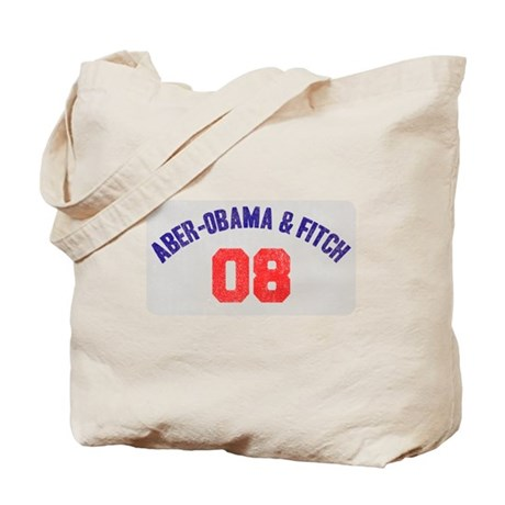 Aber-Obama & Fitch Tote Bag