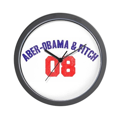 Aber-Obama & Fitch Wall Clock
