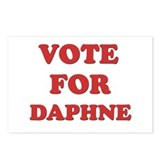 Vote for DAPHNE Postcards (Package of 8)
