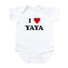 I Love YAYA Infant Bodysuit