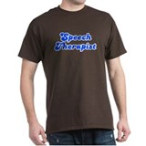 Retro Speech ther.. (Blue) T-Shirt