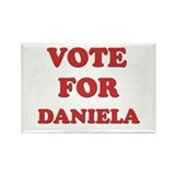 Vote for DANIELA Rectangle Magnet (10 pack)