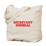 Retro Secretary g.. (Red) Tote Bag