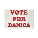 Vote for DANICA Rectangle Magnet (10 pack)