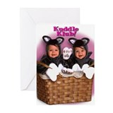 """Kitten Basket"" from Kuddle Klub Greeting Cards (P"