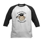 Monkey Preschool Graduate Kids Baseball Jersey
