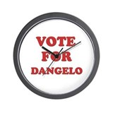 Vote for DANGELO Wall Clock