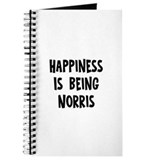Happiness is being Norris Journal