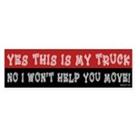 My Truck Bumper Sticker