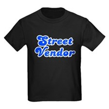 Retro Street vendor (Blue) T