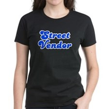 Retro Street vendor (Blue) Tee