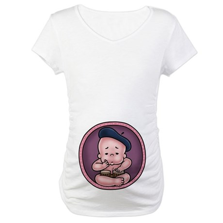 Womb-Beat Maternity T-Shirt