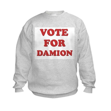 Vote for DAMION Kids Sweatshirt