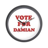 Vote for DAMIAN Wall Clock