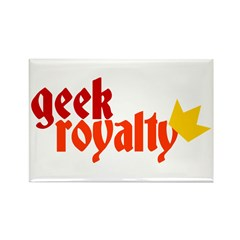 Geek Royalty Rectangle Magnet