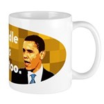 My middle name is Hussein too coffee mug