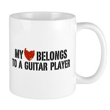 My Heart Belongs to a Guitar Player Mug