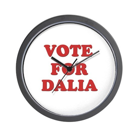 Vote for DALIA Wall Clock