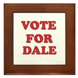 Vote for DALE Framed Tile