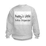 Daddy's Little Police Inspector Sweatshirt
