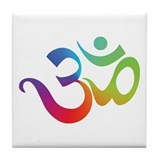 Om Tile Coaster