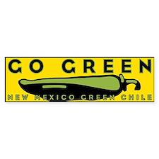Go Green Bumper Stickers