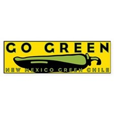 Go Green Bumper Sticker (10 pk)