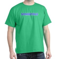 Retro Somerville (Blue) T-Shirt