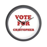 Vote for CRISTOPHER Wall Clock