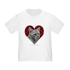 Bengal Cat Heart T