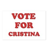 Vote for CRISTINA Postcards (Package of 8)