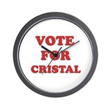 Vote for CRISTAL Wall Clock