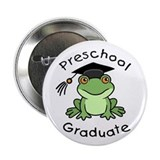 "Frog Preschool Graduate 2.25"" Button (10 pack)"