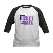 I Wear Violet For My Niece 6 Tee