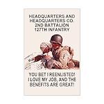 2-127th Infantry <BR>HHC Mini-Poster