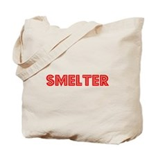 Retro Smelter (Red) Tote Bag