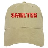 Retro Smelter (Red) Baseball Cap