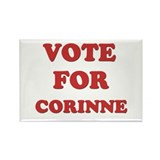 Vote for CORINNE Rectangle Magnet (10 pack)