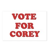 Vote for COREY Postcards (Package of 8)