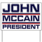 John McCain Yard Sign