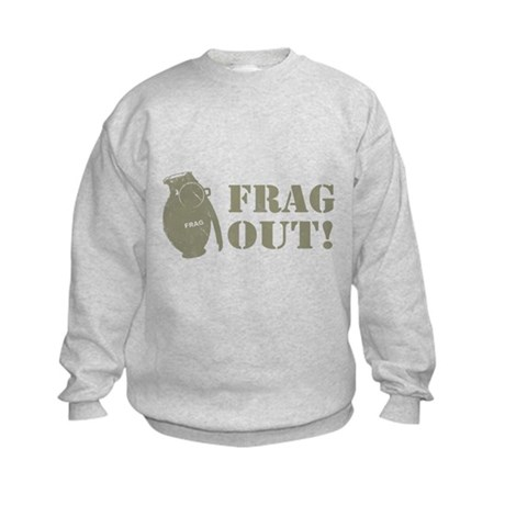 Frag Out! Kids Sweatshirt