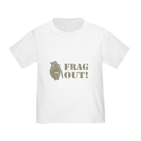 Frag Out! Toddler T-Shirt