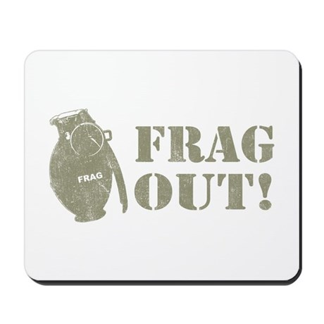 Frag Out! Mousepad