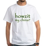 Howzit My China Shirt