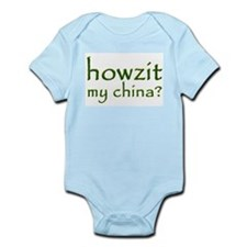 Howzit My China Infant Creeper