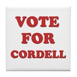 Vote for CORDELL Tile Coaster