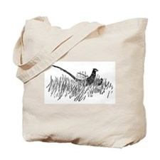 Pheasant Pencil Sketch Tote Bag